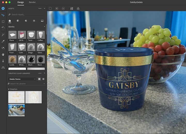 Adobe Dimension CC 2018 2.0 3D制作软件