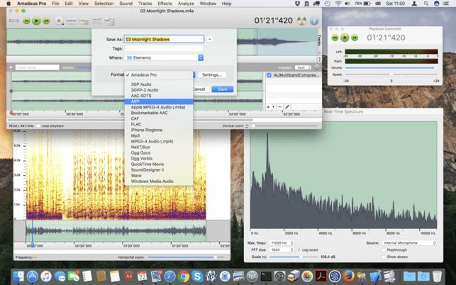 Amadeus Pro 2.4.7(2038) 功能齐全的音频编辑工具