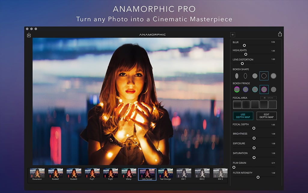 Anamorphic Pro 2.0 一款景深效果软件