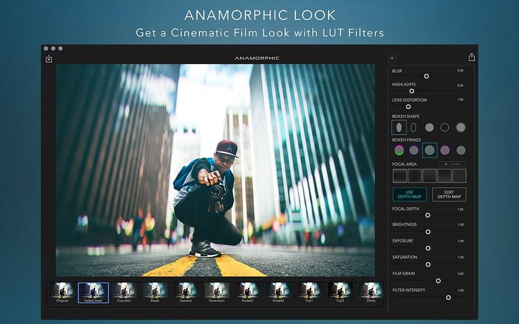 Anamorphic Pro 1.6 一款景深效果软件