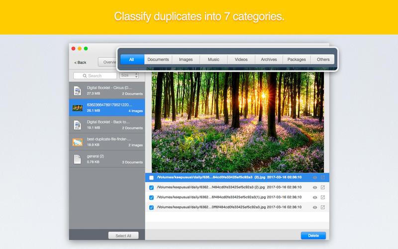 Cisdem Duplicate Finder 4.7.0 又一款重复文件查找工具