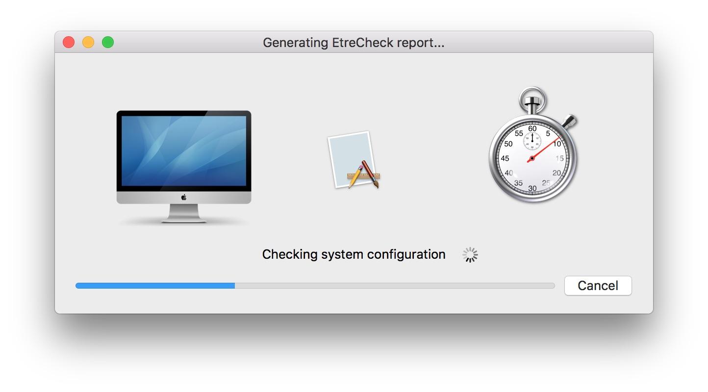 EtreCheck 5.0.5 系统配置信息提取工具