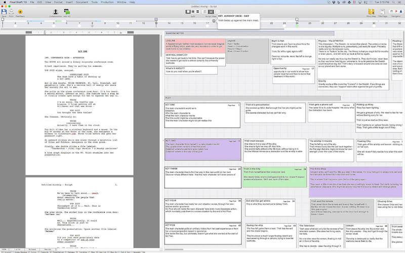 Final Draft 11.0 剧本写作工具
