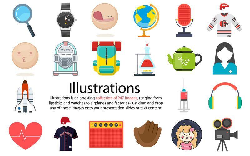 Graphics 2.4.2 图标、插画素材集合