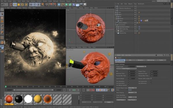 Maxon Cinema 4D Studio(C4D) R19.053 强大的3D动画设计建模工具