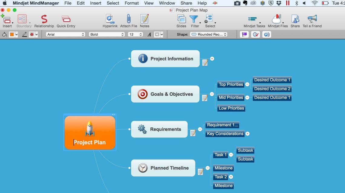 Mindjet MindManager 12.1.190 优秀的思维导图工具