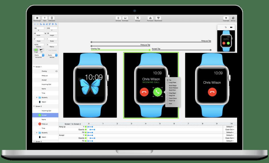 Principle 4.5 Mac平台交互动效设计神器
