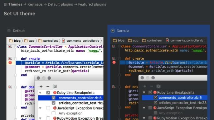 JetBrains RubyMine 2018.3.5 号称最智能的Ruby和Rails的IDE
