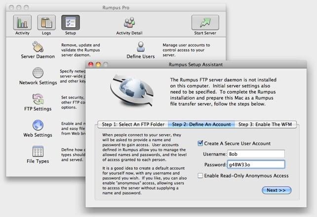 Rumpus Pro 8.2.11 一款好用的FTP文件传输工具
