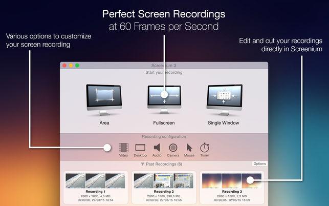 Screenium 3.1.3 优秀的屏幕录像工具