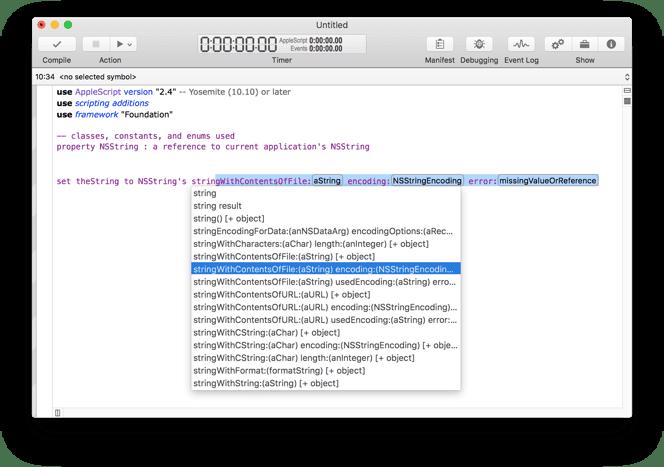 Script Debugger 7.0.4 优秀的AppleScript调试工具