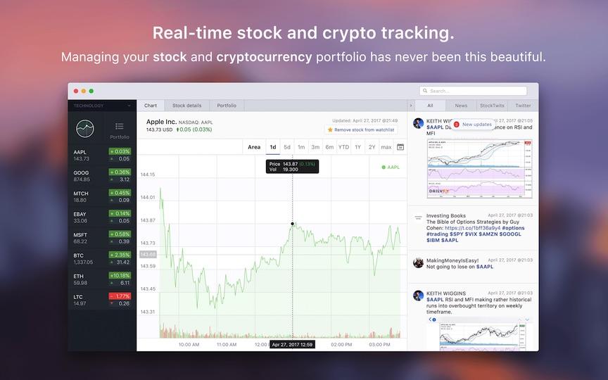 Stockfolio 1.4.12 股票行情软件