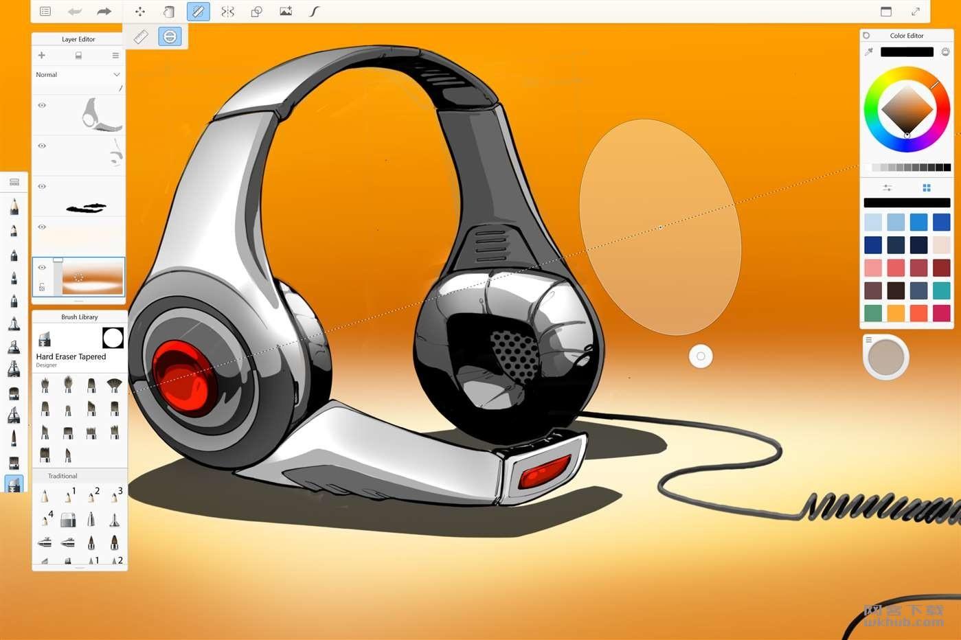 Autodesk SketchBook Pro 2018 可能是最好用的绘图软件之一