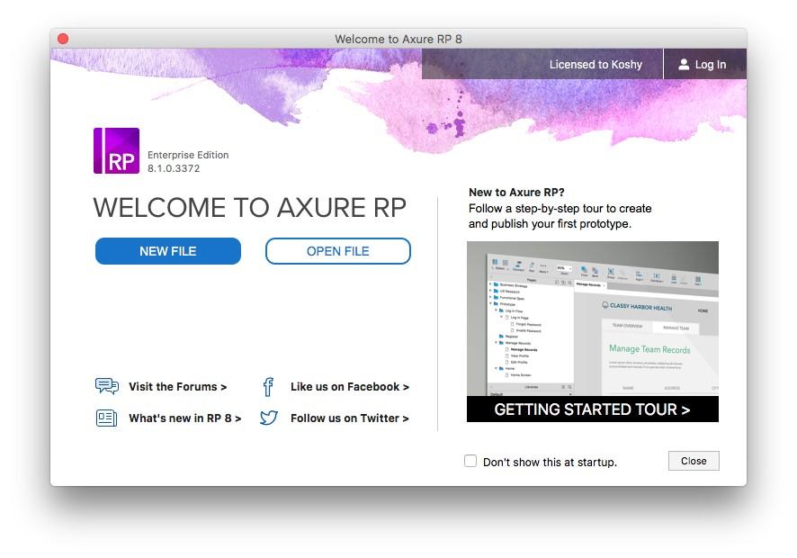 Axure RP 9.0.0.3647 专业的快速原型设计工具