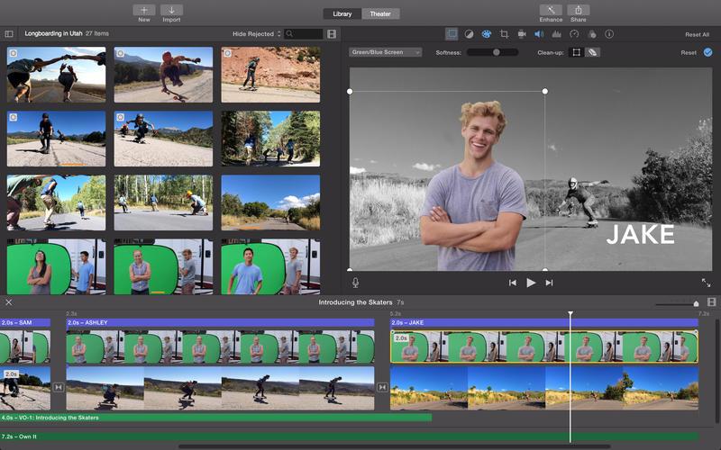 iMovie 10.1.10 苹果官方视频剪辑软件