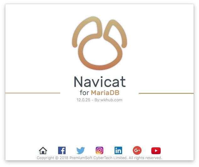 Navicat for MariaDB 12.0.27 图形化 MariaDB 数据库管理工具