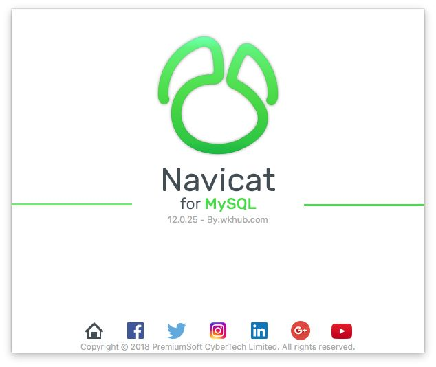 Navicat for MySQL 12.1.13 图形化 MySQL 数据库管理工具