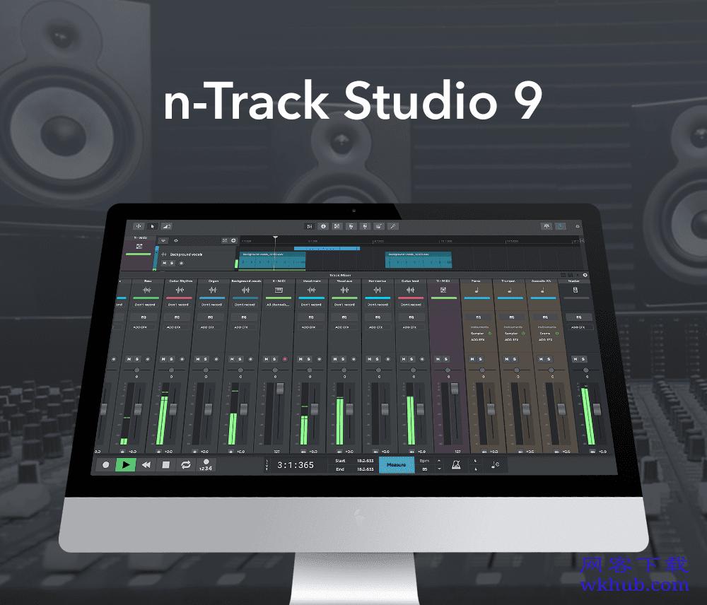 n-Track Studio Suite 9.0.0.3515 优秀的录音和混音软件