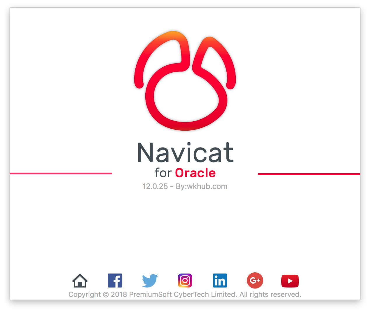 Navicat for Oracle 12.1.13 图形化 Oracle 数据库管理工具