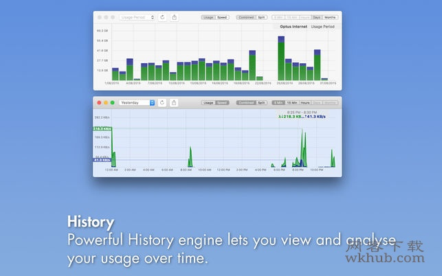PeakHour 4.1.9 优秀的实时网络监控工具