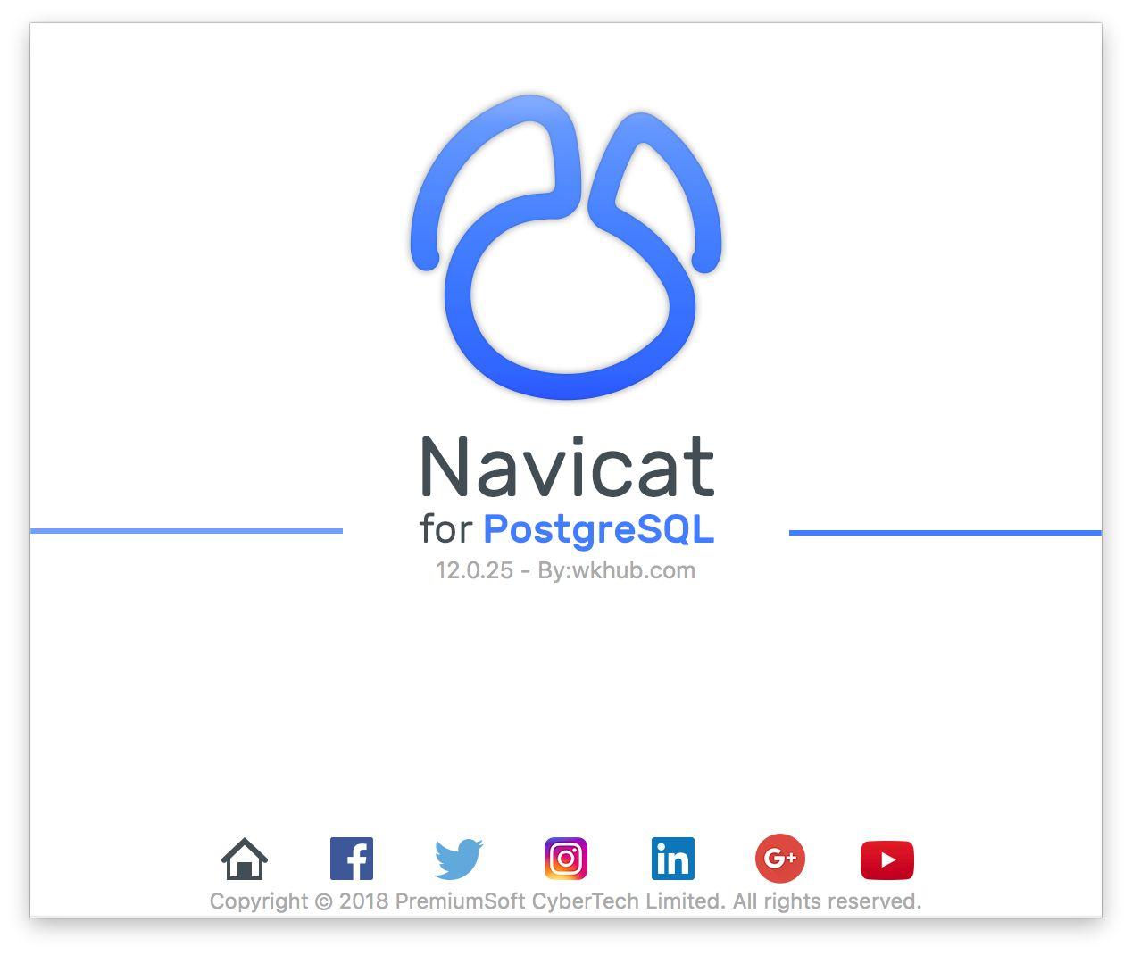 Navicat for PostgreSQL 12.0.26 图形化 PostgreSQL 数据库管理工具