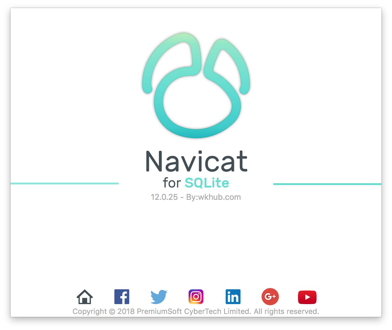 Navicat for SQLite 12.0.26 图形化 SQLite 数据库管理工具