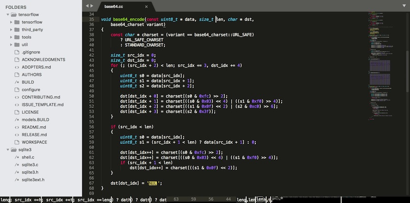 Sublime Text 3 Build 3192 绝对强大的代码编辑神器