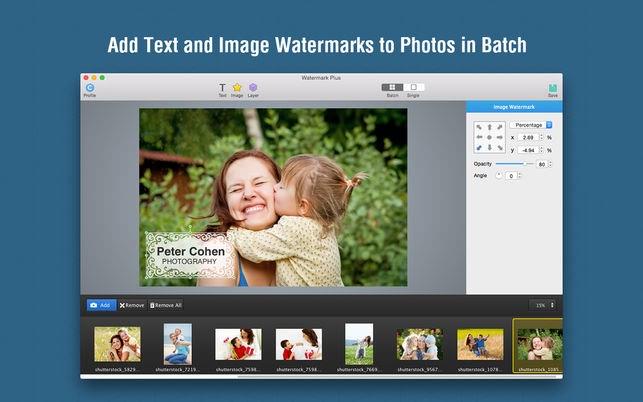 Watermark Plus 1.5.8 超强图片水印批量处理工具