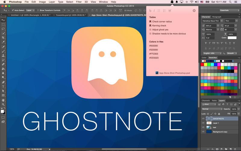 Ghostnote 2.1.4 简洁易用的备忘录应用