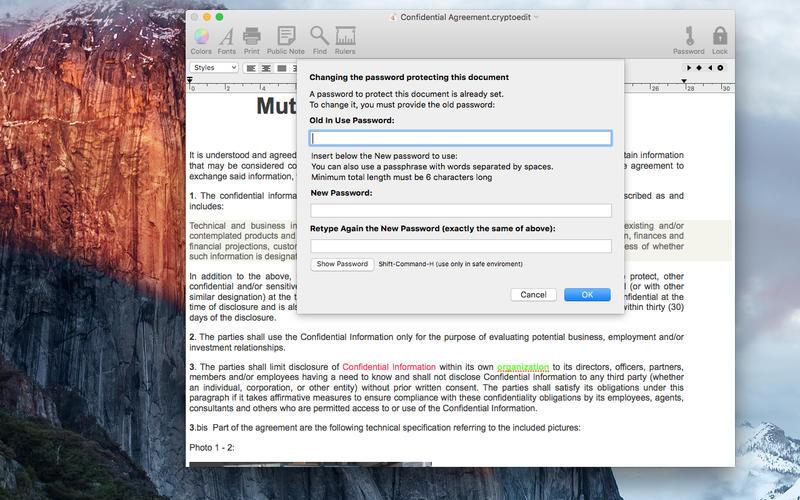 CryptoEdit 2.2.1 功能强大且安全的文本编辑器