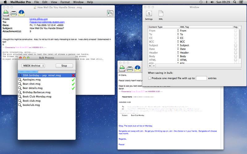 MailRaider Pro 3.67 微软邮件读取导出助手