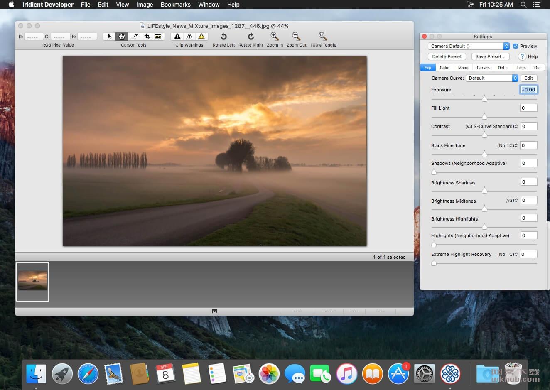 Iridient Developer 3.3 RAW图像格式转换工具