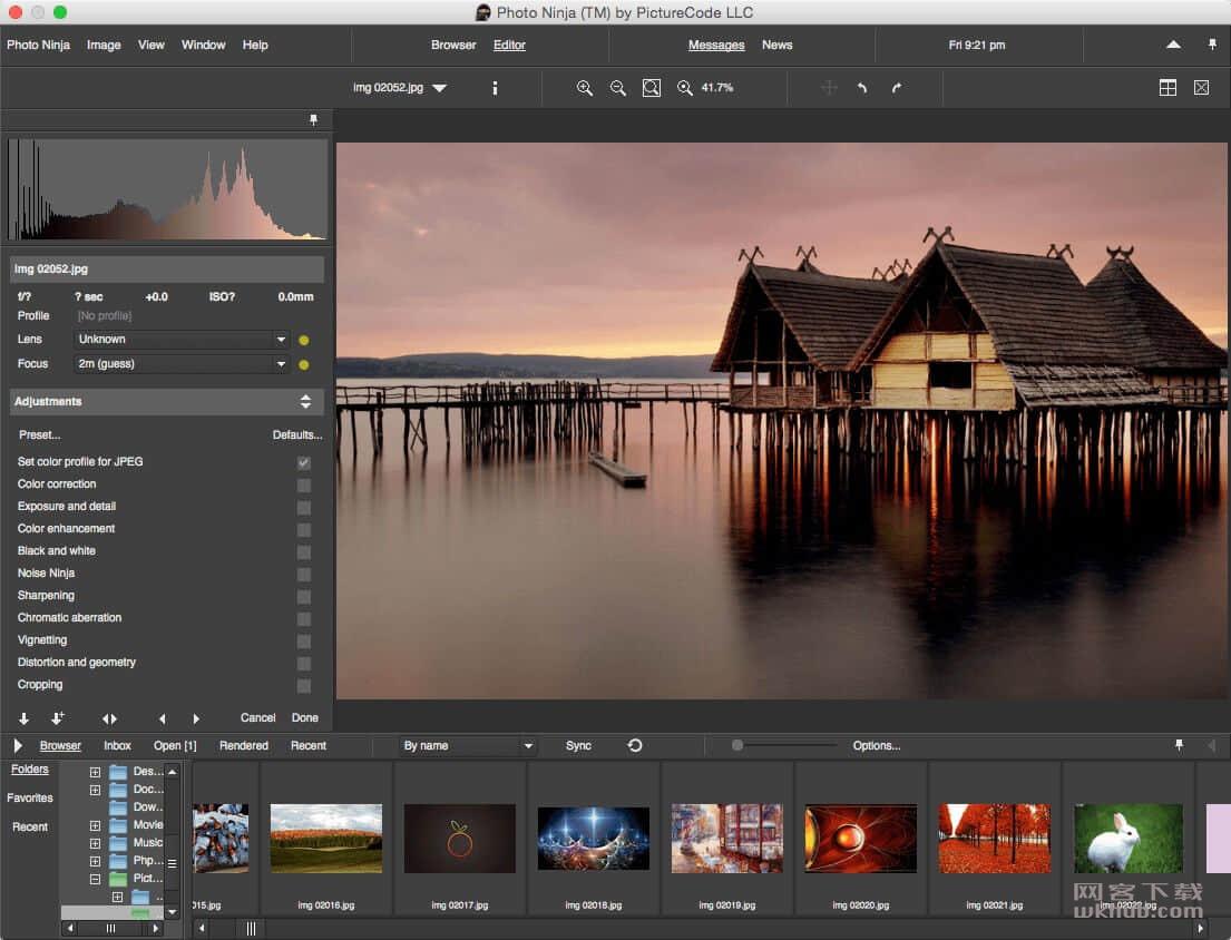 PhotoNinja 1.3.7 专业的RAW转换应用