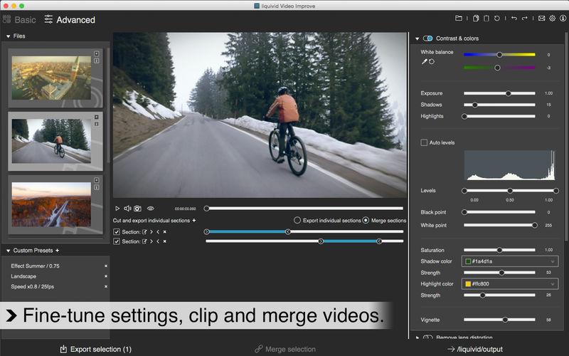 Liquivid Video Improve 2.3.2 直观易用的视频和照片编辑器