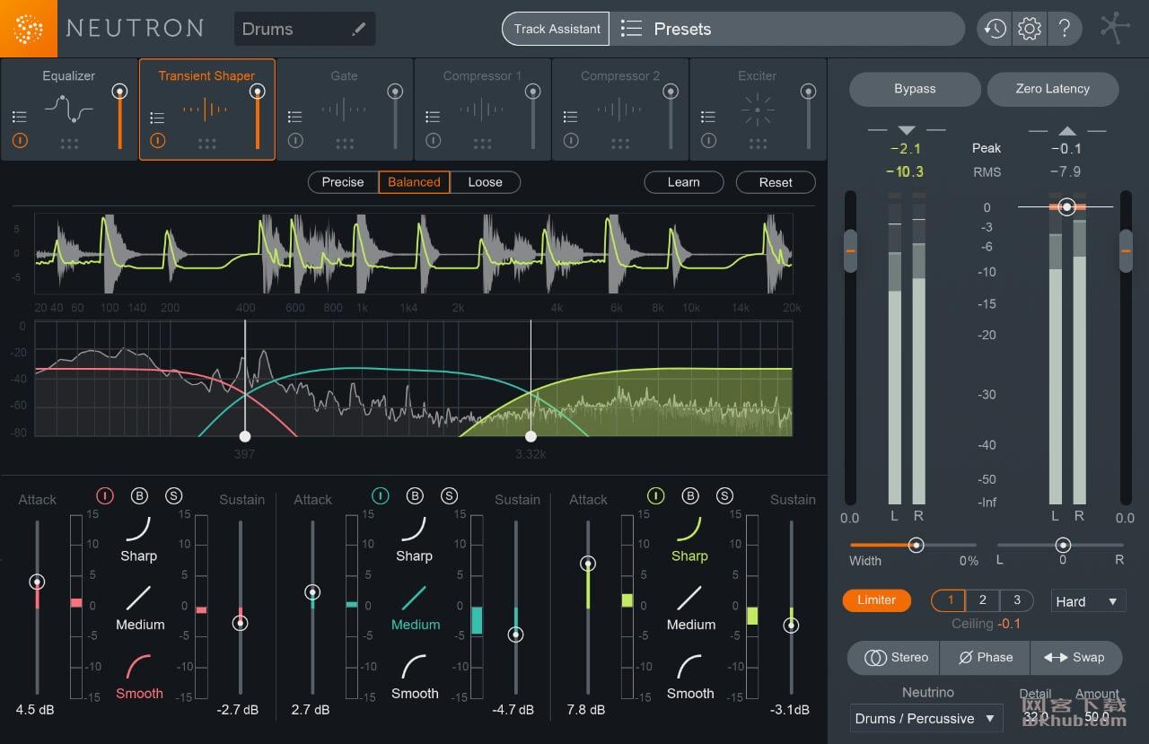 iZotope Neutron Advanced 3.0.0 优秀的混音和后期制作工具
