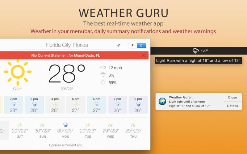 Weather Guru 2.3.1 美观易用的天气预报应用