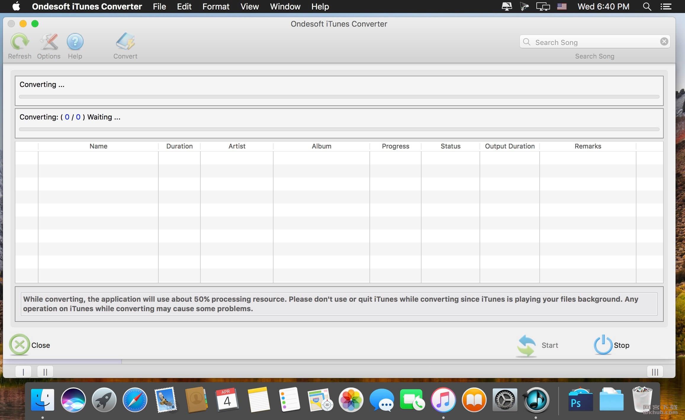 Ondesoft iTunes Converter 3.0.1 音频DRM保护移除工具