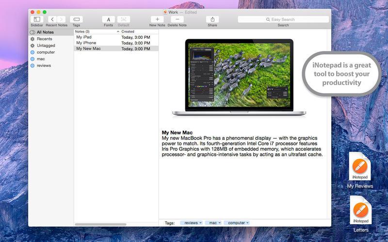 iNotepad Pro 4.6 优秀的笔记软件