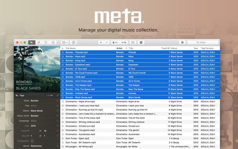 Meta 1.9.1 简单实用的音频元数据编辑器