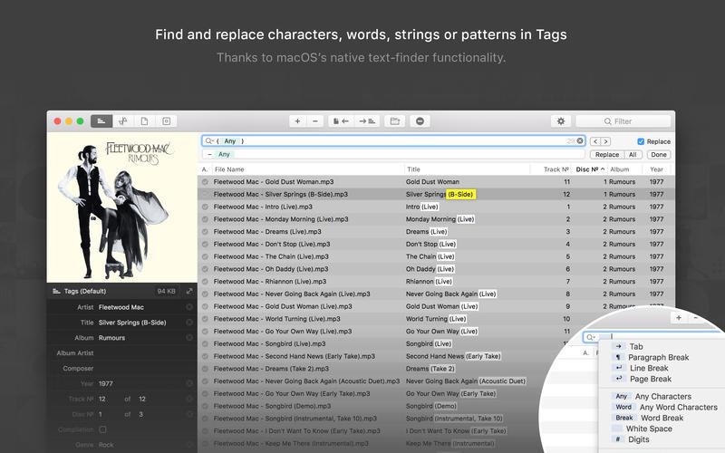 Meta 1.9.3 简单实用的音频元数据编辑器