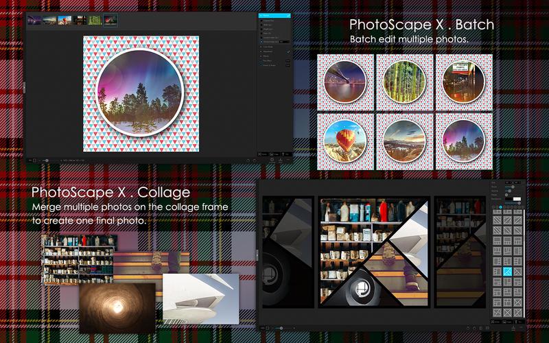 PhotoScape X Pro 4.0.1 强大易用的多功能照片编辑工具