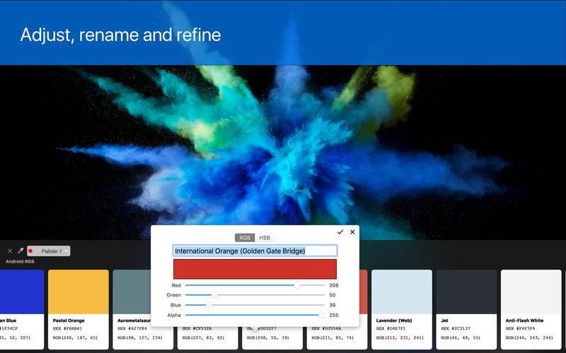 Pikka 1.9.1 强大易用的屏幕取色工具