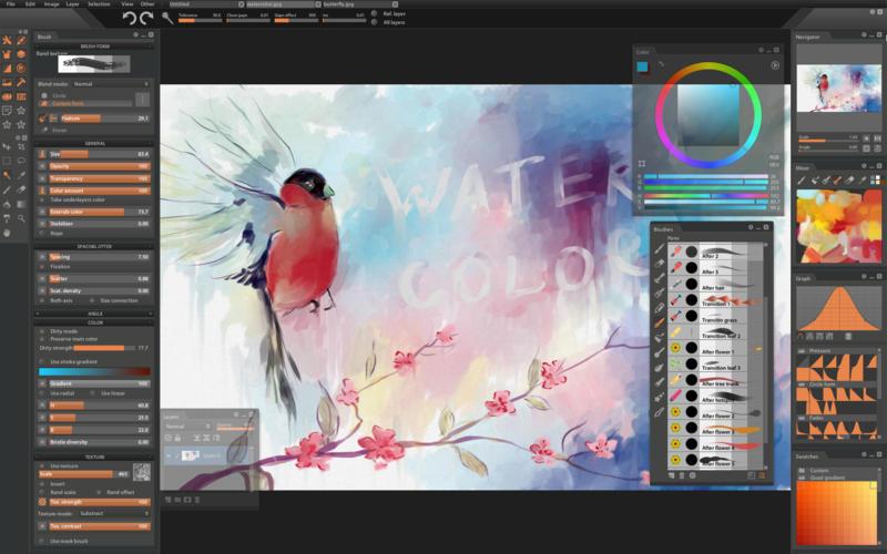Paintstorm Studio 2.31 专业的数字绘画创作应用