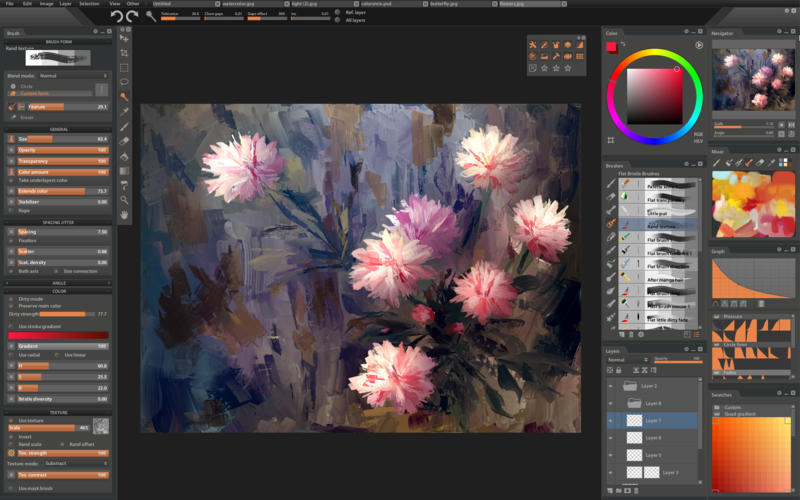 Paintstorm Studio 2.40 专业的数字绘画创作应用