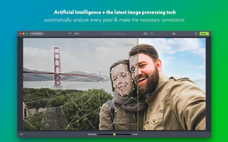 Photolemur 3 1.1.0.6212 智能照片增强工具