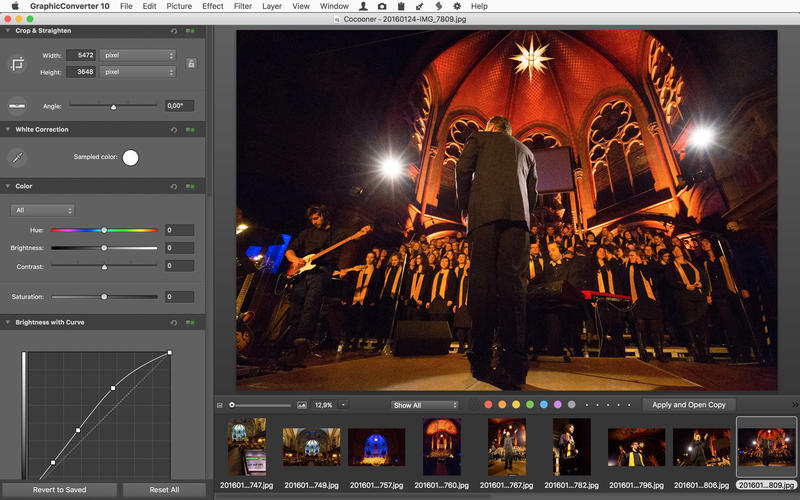 GraphicConverter 10.6.4 强大的图片编辑浏览工具