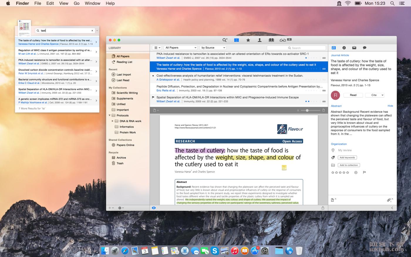Papers 3.4.21 优秀的论文写作工具