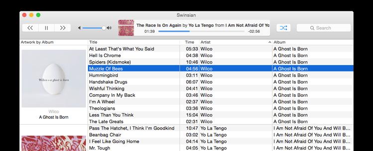 Swinsian 2.1.8 优秀的轻量级音乐播放器