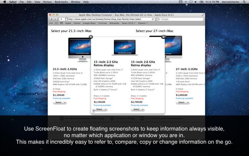 ScreenFloat 1.5.17 方便的浮动屏幕截图工具