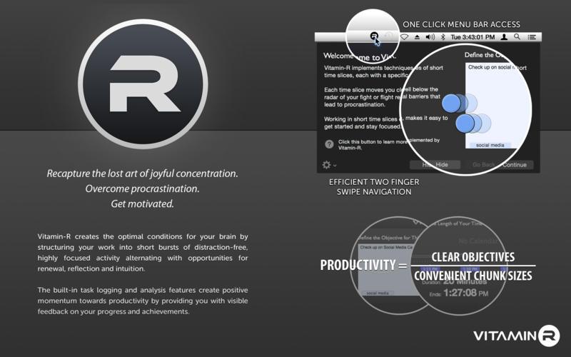Vitamin-R 2.58 优秀的工作效率提升软件